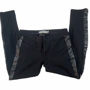 Paige Premium Denim Peg Super Skinny Tuxedo Pants